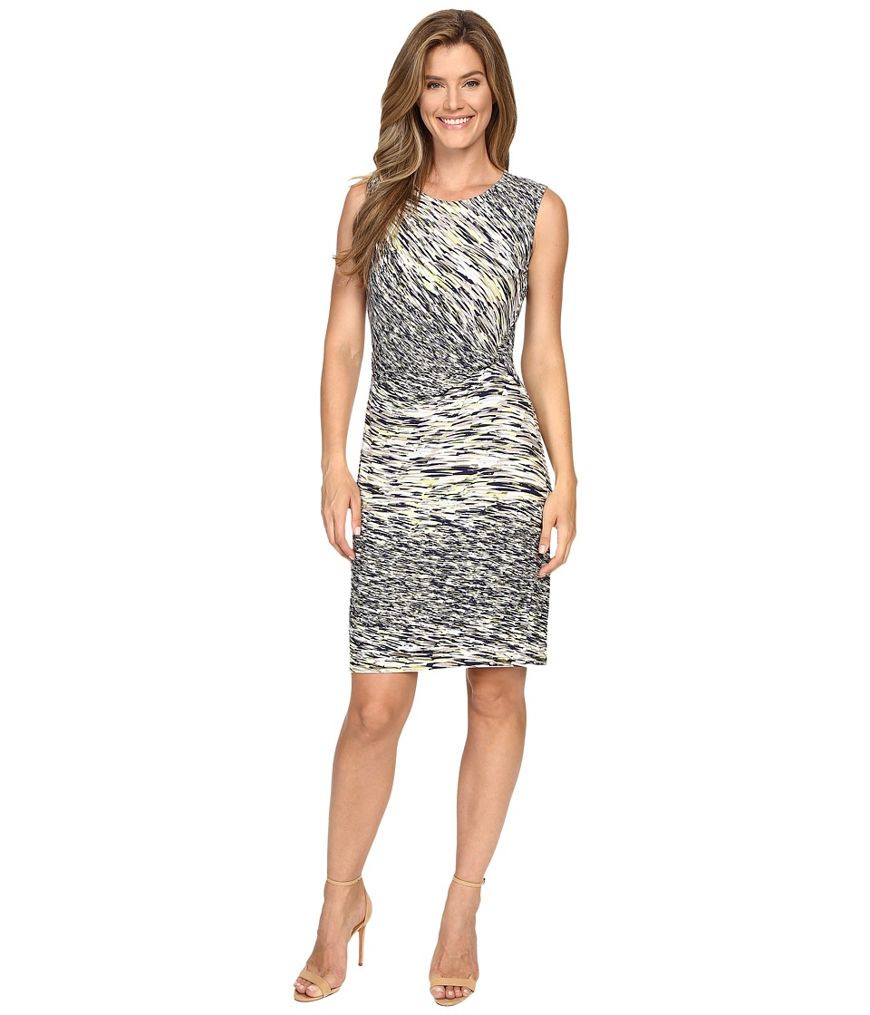 NIC+ZOE - Green Oasis Twist Dress (Multi) Women's Dress