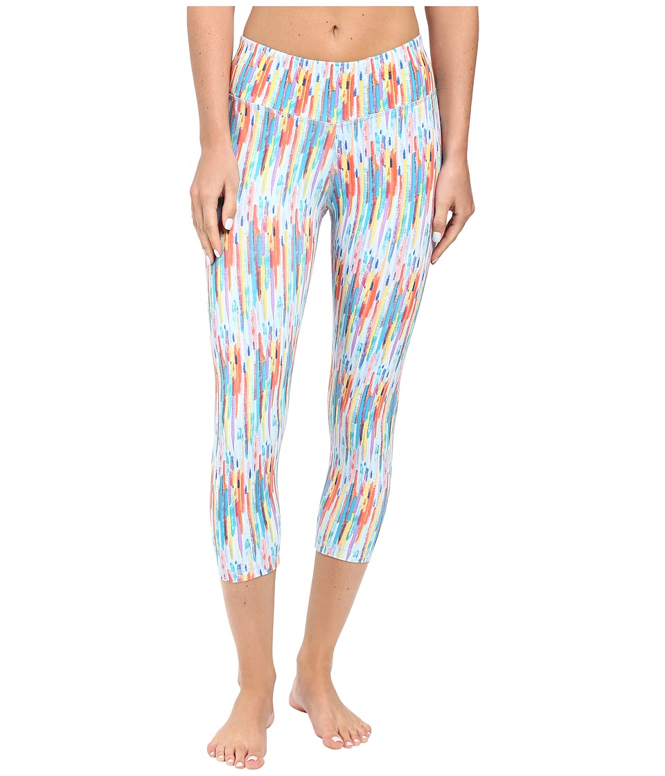 tasc Performance - Nola Crop Pants (Rainbow Rain) Women's Casual Pants