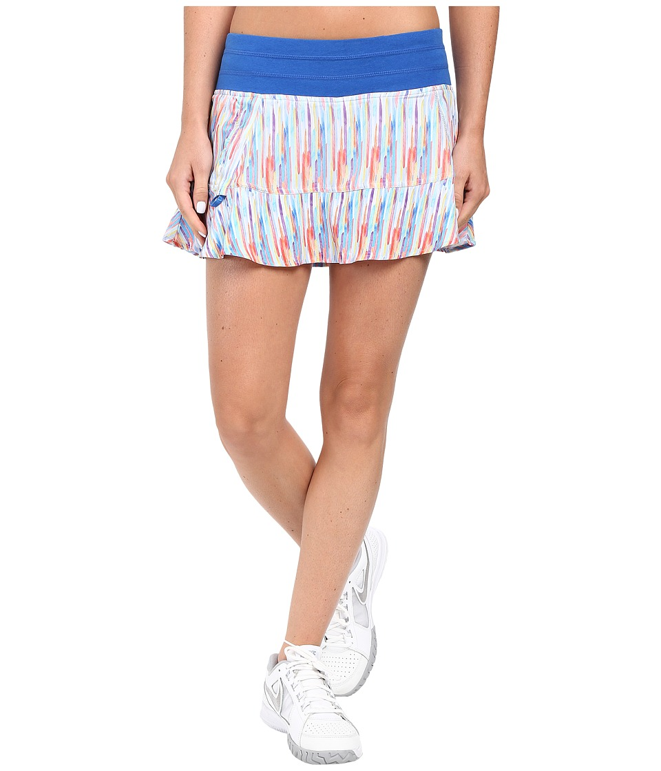 tasc Performance - Rhythm Skirt (Rainbow Rain/Dory Blue) Women's Skort