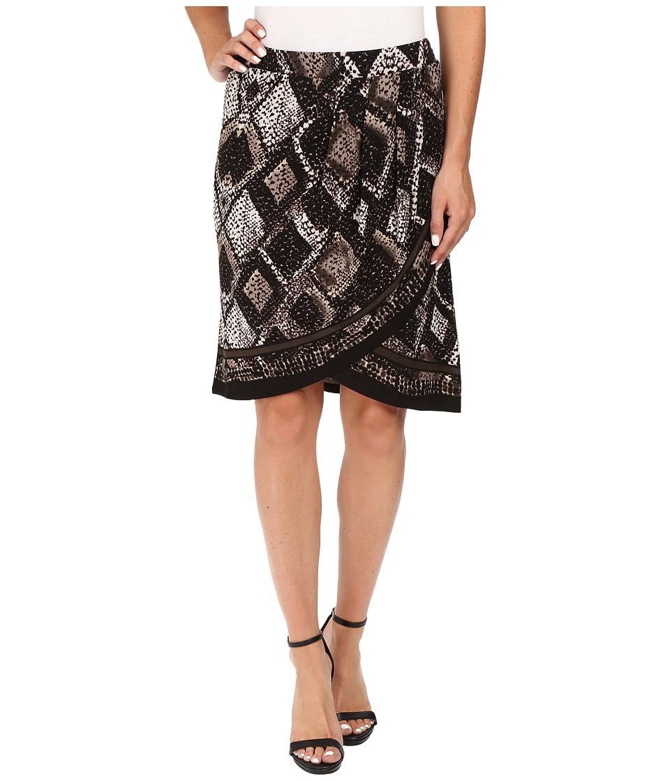 NIC+ZOE - Scaled Wrap Skirt (Multi) Women's Skirt