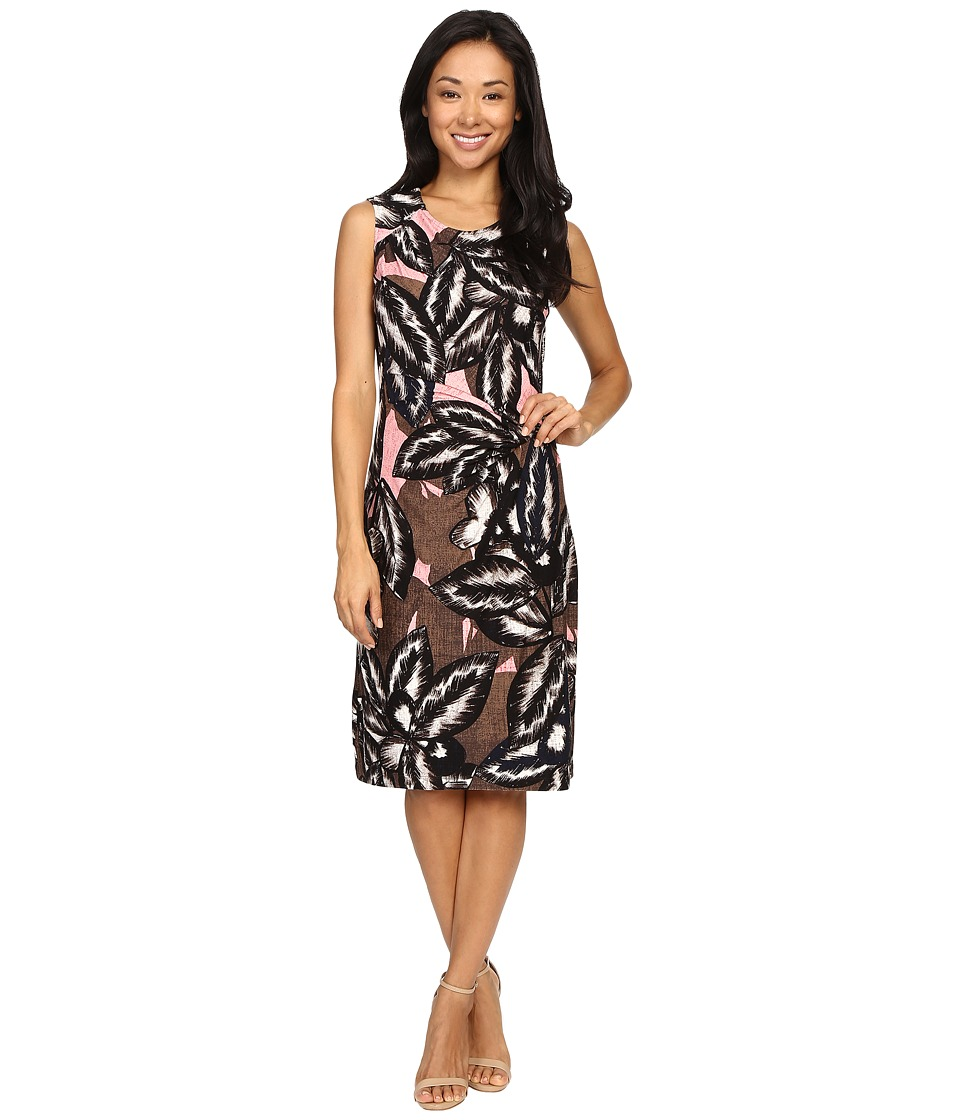 NIC+ZOE Aloha Twist Dress (Multi) Women