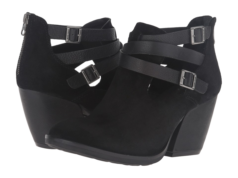 Kork-Ease - Stina (Black/Black Combo) High Heels