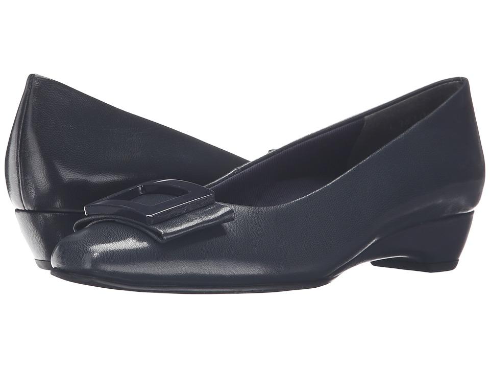 Rose Petals - Brynn (Navy) Women's Shoes