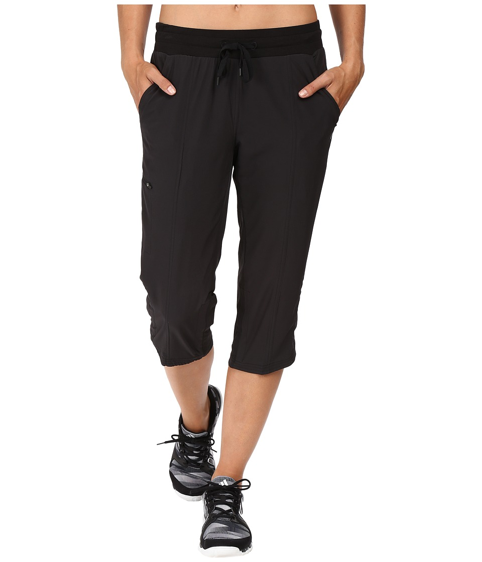 tasc Performance District II Capris (Black) Women