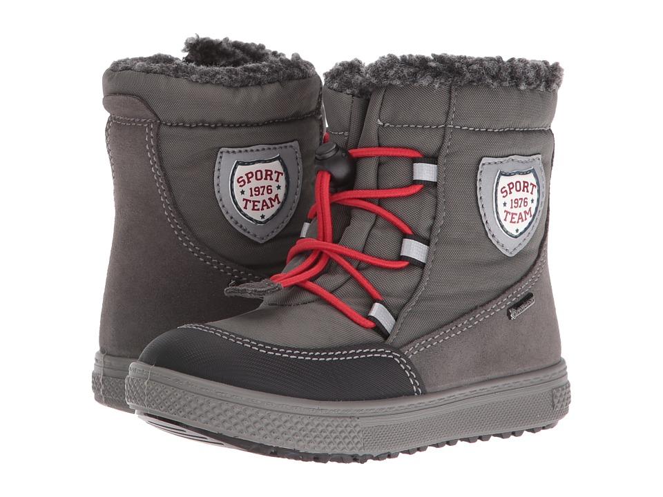 Primigi Kids - Pako-E (Toddler) (Grey) Boys Shoes