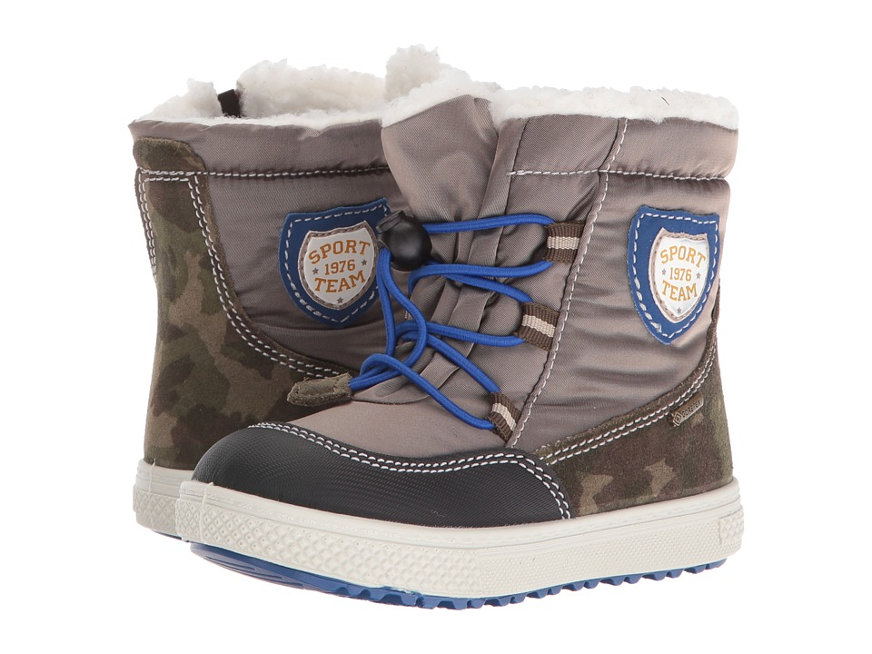 Primigi Kids - Pako-E (Toddler) (Military) Boys Shoes