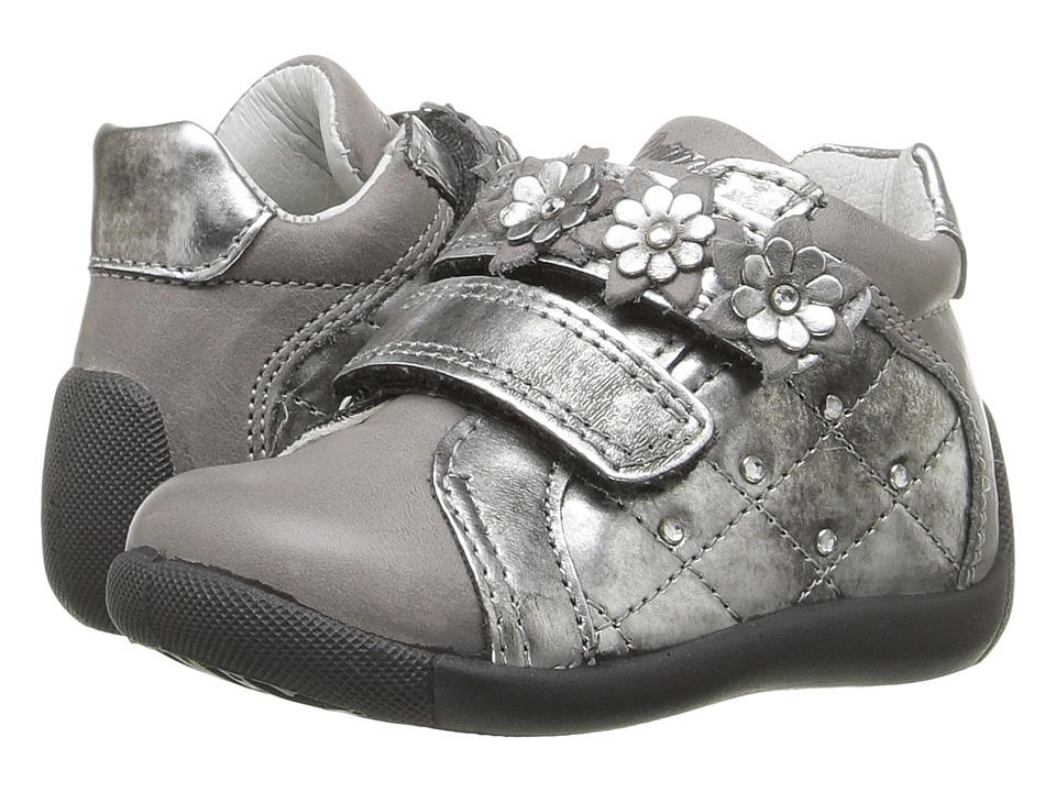 Primigi Kids - Alda (Infant/Toddler) (Grey) Girl's Shoes