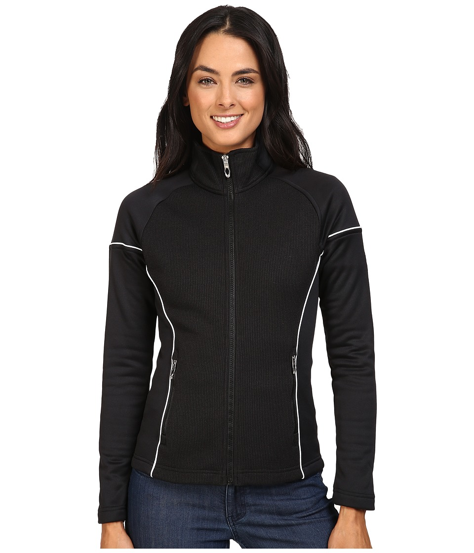 Spyder - Premier Lightweight Core Sweater (Black/White) Women's Sweater