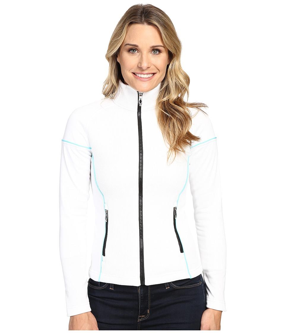 Spyder - Premier Lightweight Core Sweater (White/Freeze) Women's Sweater
