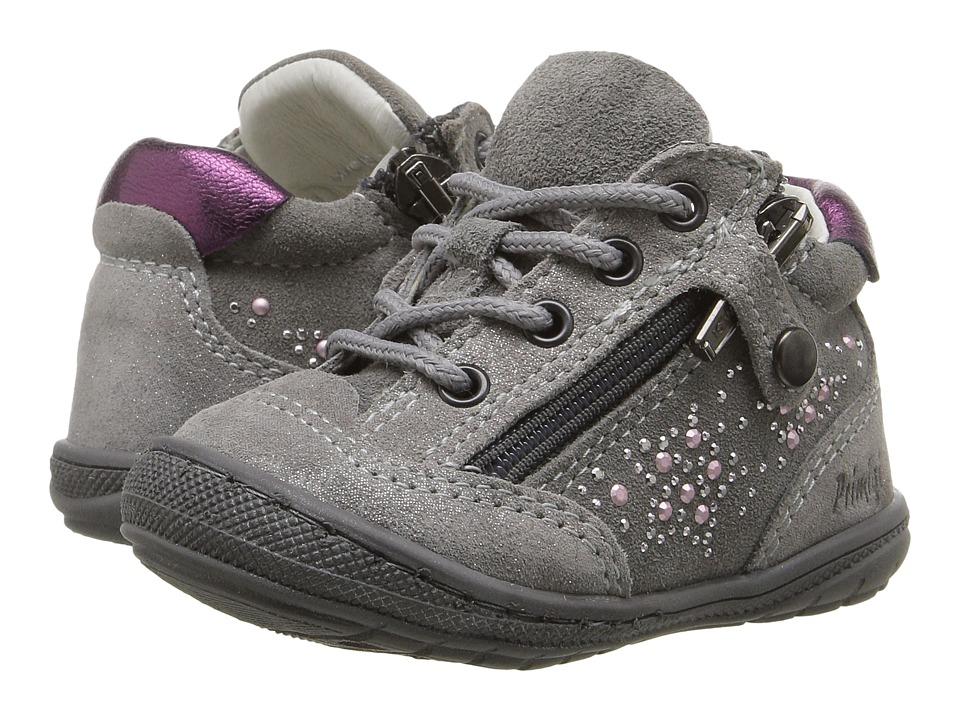 Primigi Kids - Fun 1-E (Infant/Toddler) (Grey) Girl's Shoes