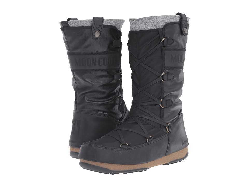 Tecnica - Moon Boot W.E. Monaco Mix (Black) Women's Boots