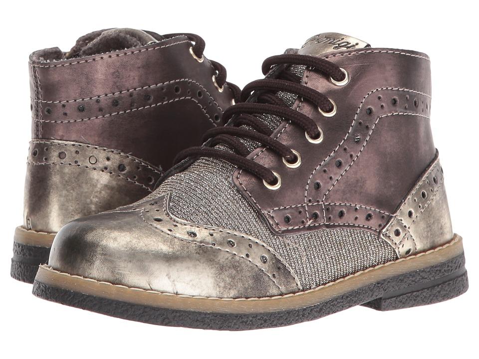 Primigi Kids - Ariosto (Toddler) (Gold/Grey) Girl's Shoes