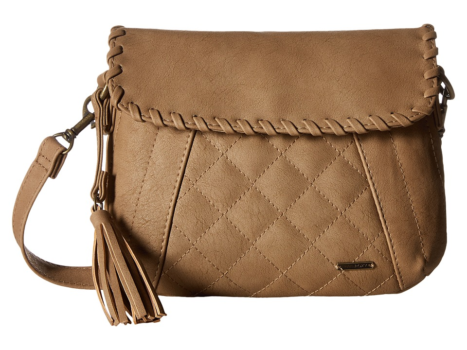 Roxy - Friday Night Crossbody Hangbag (Bone Brown) Cross Body Handbags