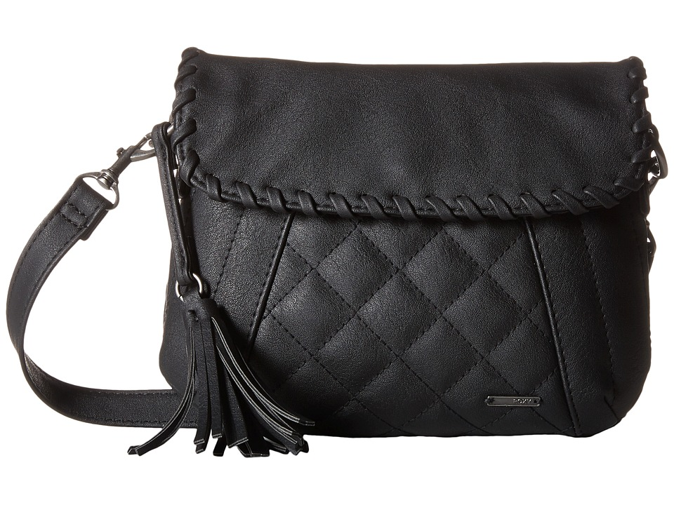 Roxy - Friday Night Crossbody Hangbag (True Black) Cross Body Handbags