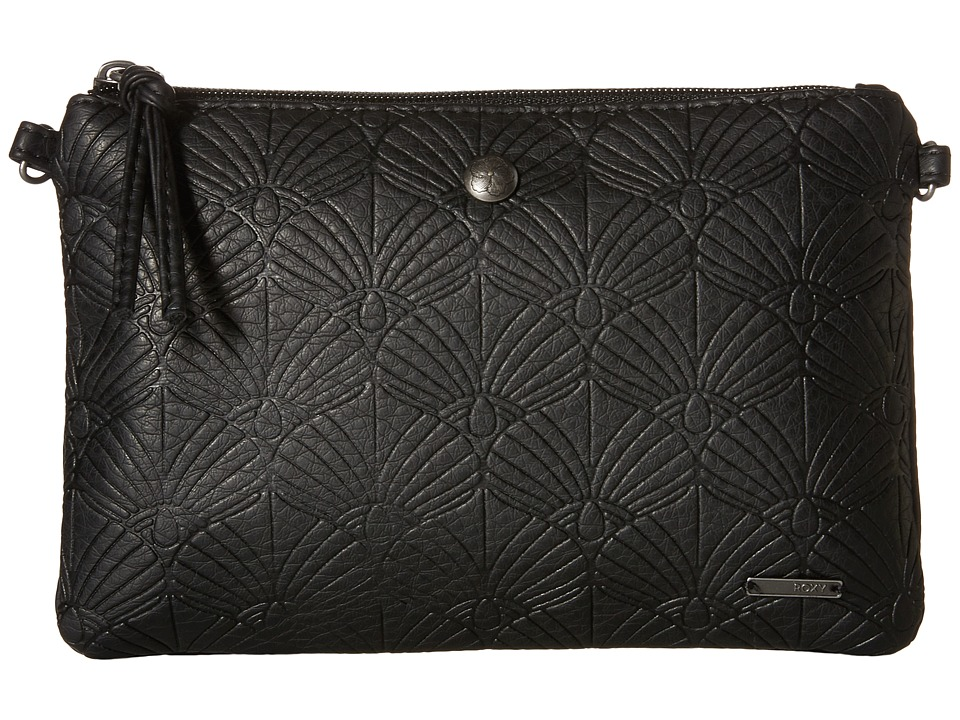 Roxy - Soft Melody Clutch (True Black) Cross Body Handbags
