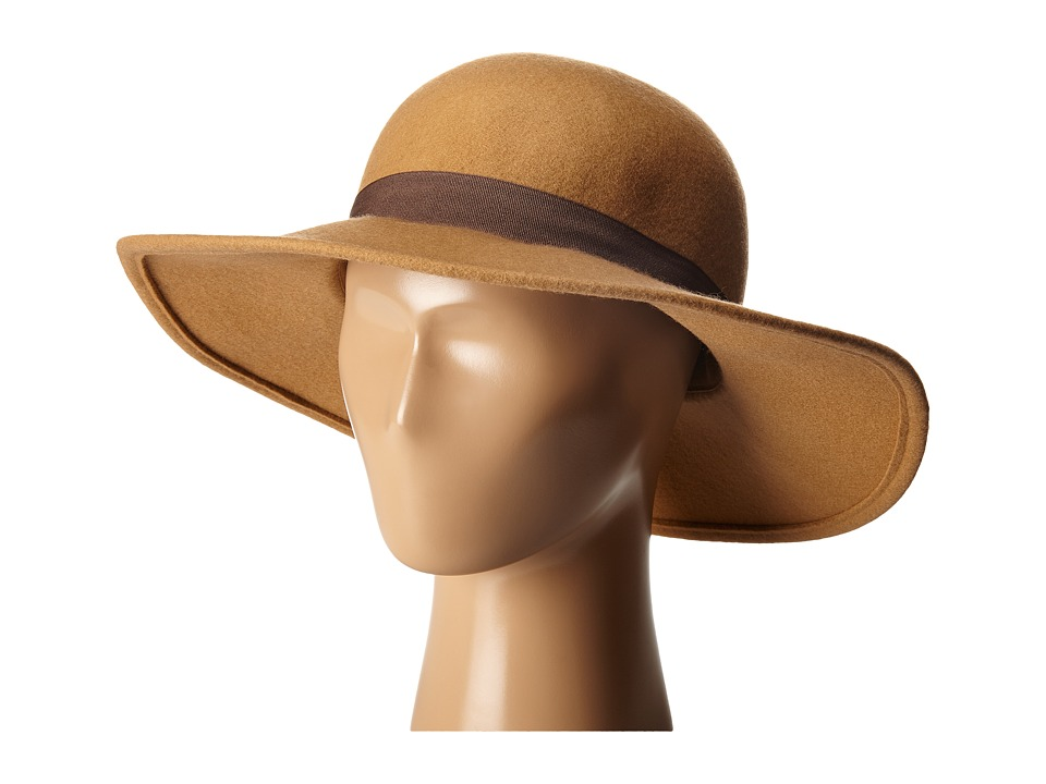 Roxy - Love In L.A. Sun Hat (Camel) Traditional Hats
