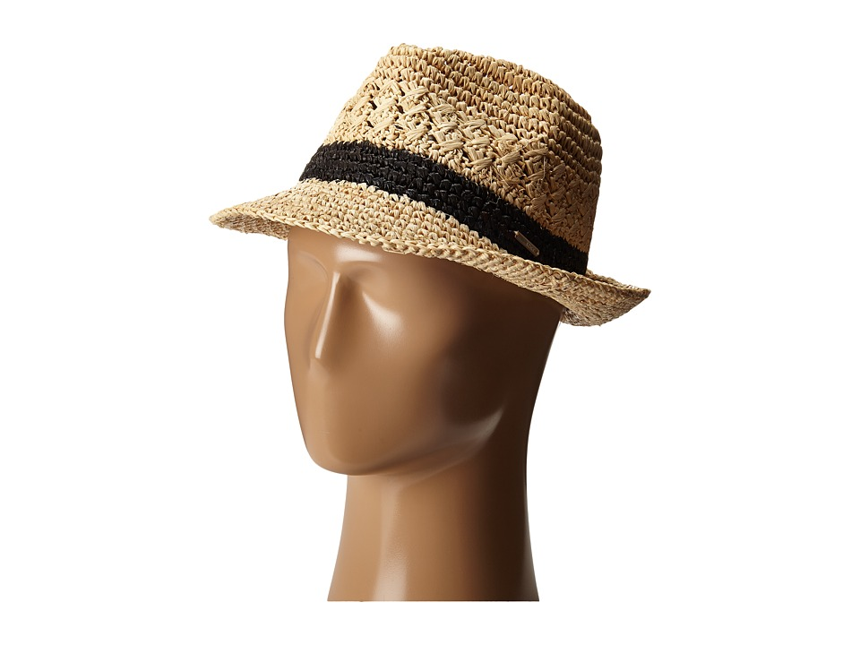 Roxy - Witching Straw Hat (Natural) Traditional Hats
