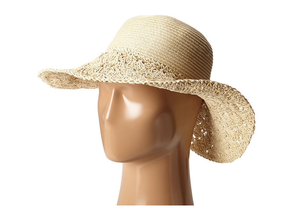 Roxy - Facing The Sun Sun Hat (Natural) Traditional Hats
