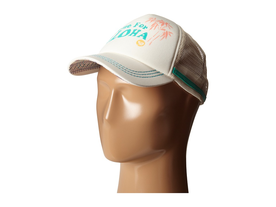 Roxy - Dig This Trucker Hat (Peach Amber) Caps