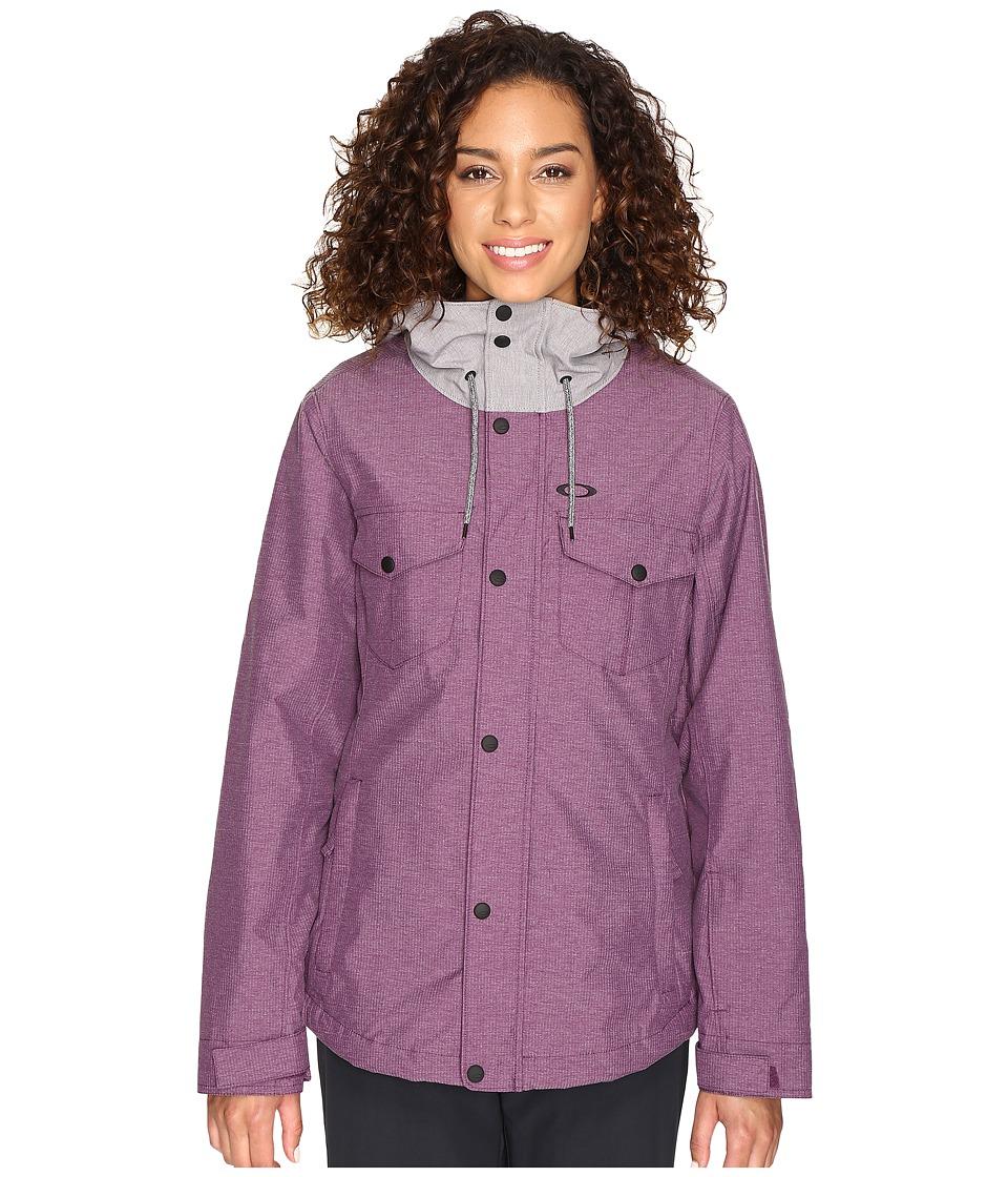 Oakley - Charlie Biozone Insulated Jacket (Deep Plum) Women's Coat