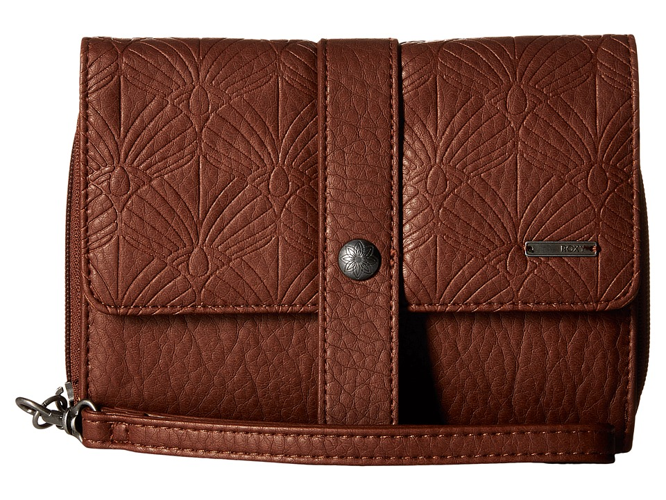 Roxy - Call Me Back Wallet (Dark Brown) Wallet Handbags