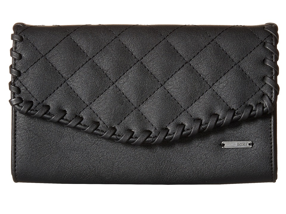 Roxy - Birdcage Wallet (True Black) Wallet Handbags
