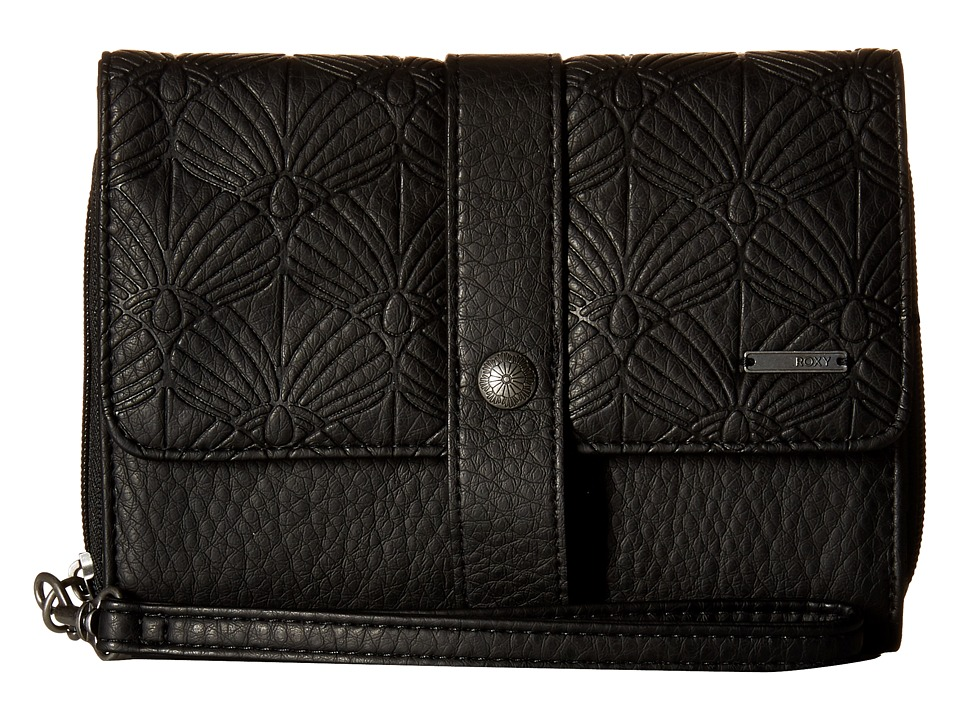 Roxy - Call Me Back Wallet (True Black) Wallet Handbags
