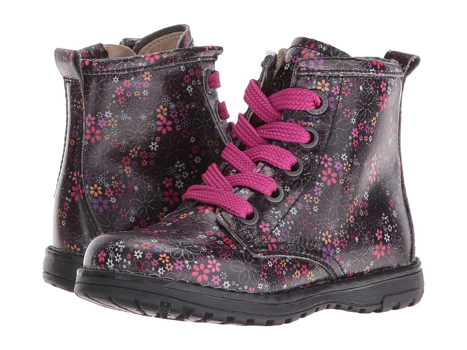 Primigi Kids - Ariel (Toddler/Little Kid) (Black Multi 1) Girls Shoes