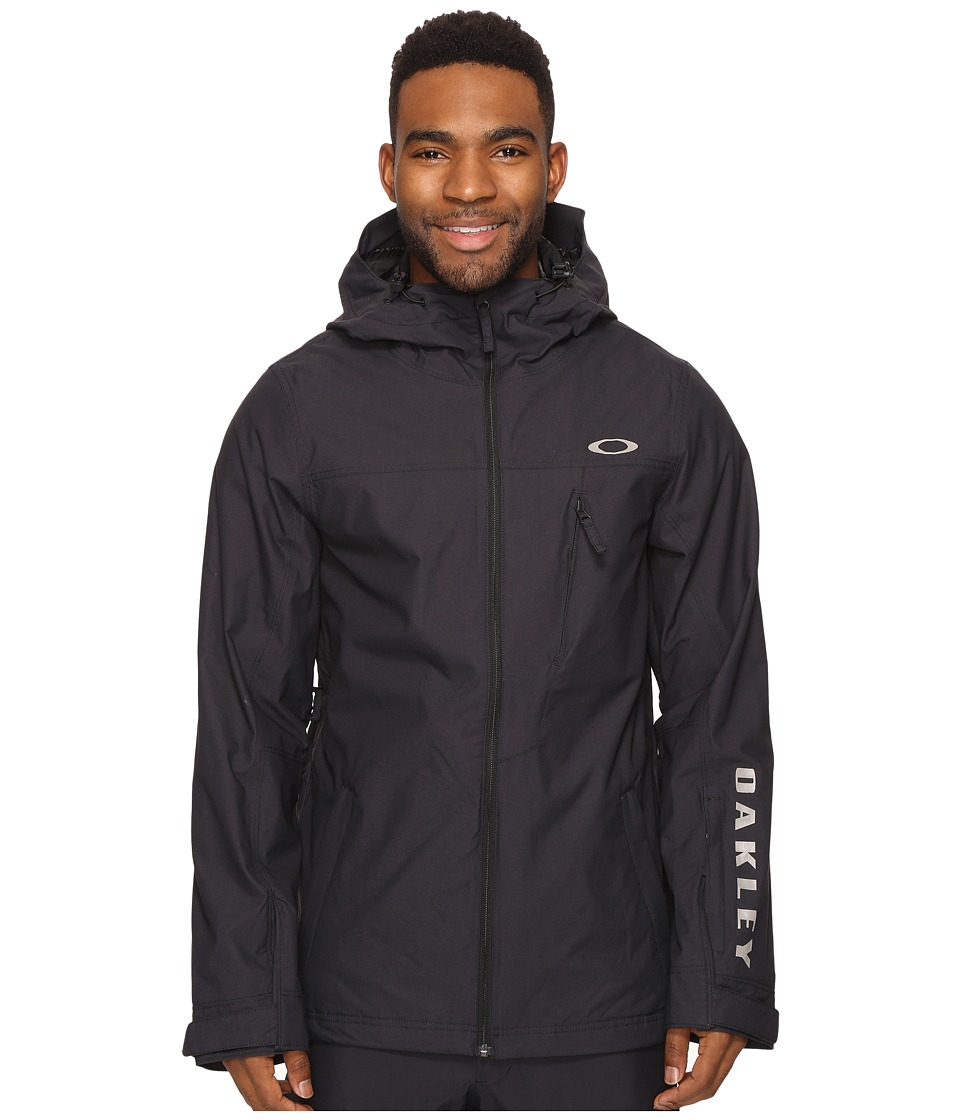 Oakley - Cresent Biozone Shell Jacket (Jet Black) Men's Coat