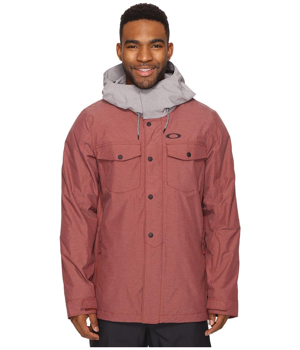 Oakley - Division Biozone Insulated Jacket (Fired Brick) Men's Coat