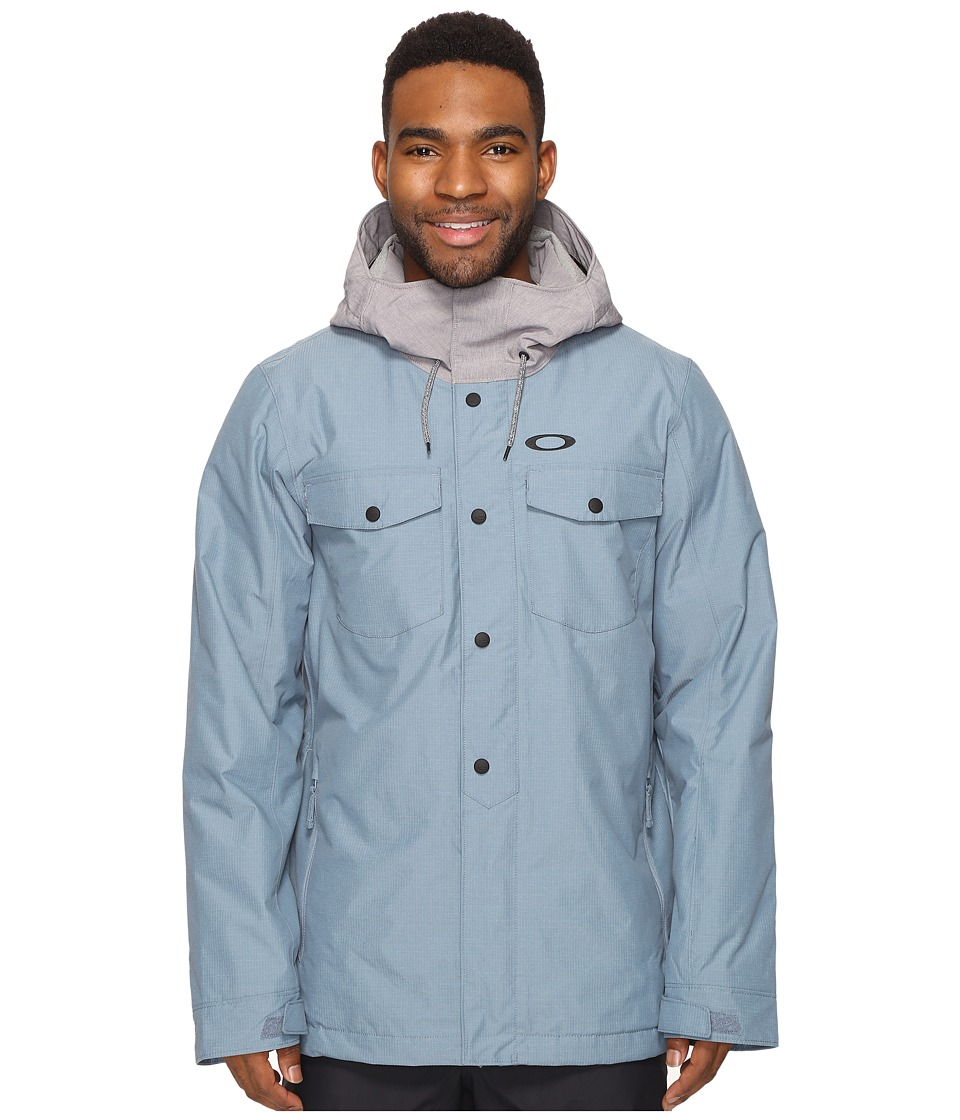 Oakley - Division Biozone Insulated Jacket (Blue Mirage) Men's Coat