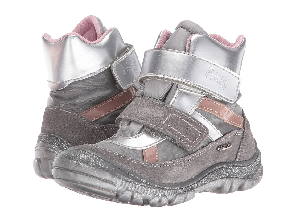 Primigi Kids - Meccoy-E (Toddler) (Grey) Girls Shoes
