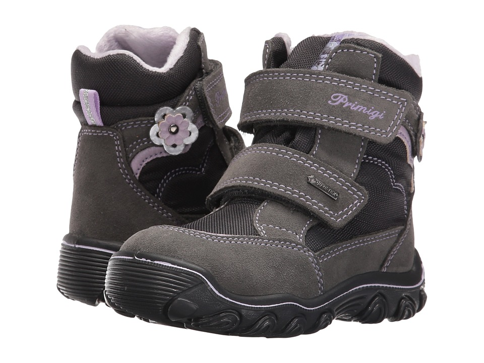 Primigi Kids - Babe-E (Toddler) (Grey) Girls Shoes