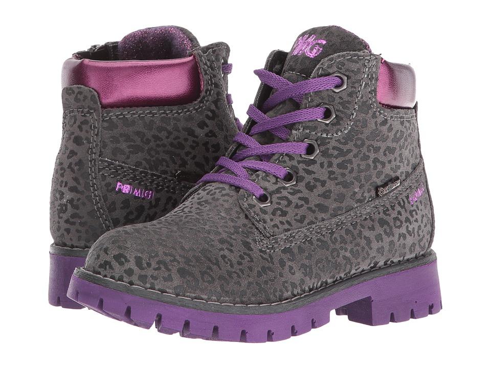 Primigi Kids - Evan (Toddler/Little Kid) (Grey/Viola) Girls Shoes