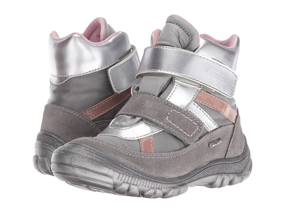 Primigi Kids - Meccoy-E (Toddler/Little Kid) (Grey) Girls Shoes
