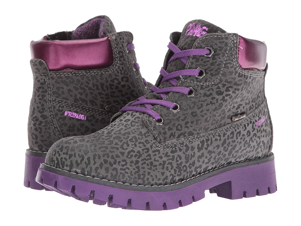 Primigi Kids - Evan (Little Kid) (Grey/Viola) Girls Shoes