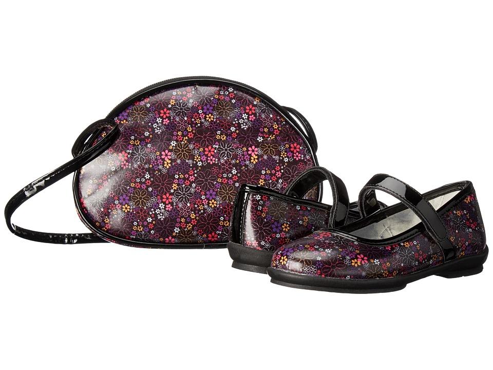 Primigi Kids - Freya (Little Kid) (Black Multi) Girl's Shoes