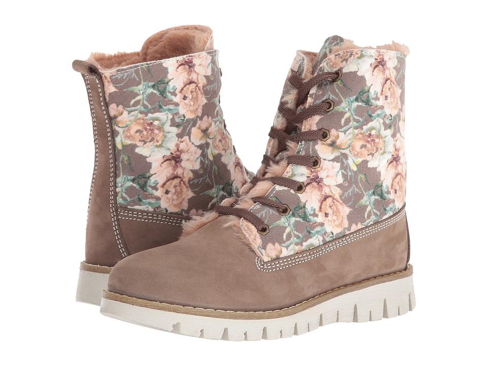Primigi Kids - Tilly (Little Kid) (Brown Floral Print) Girl's Shoes