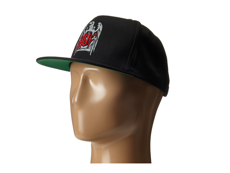 HUF - Vulture Snapback (Black) Caps