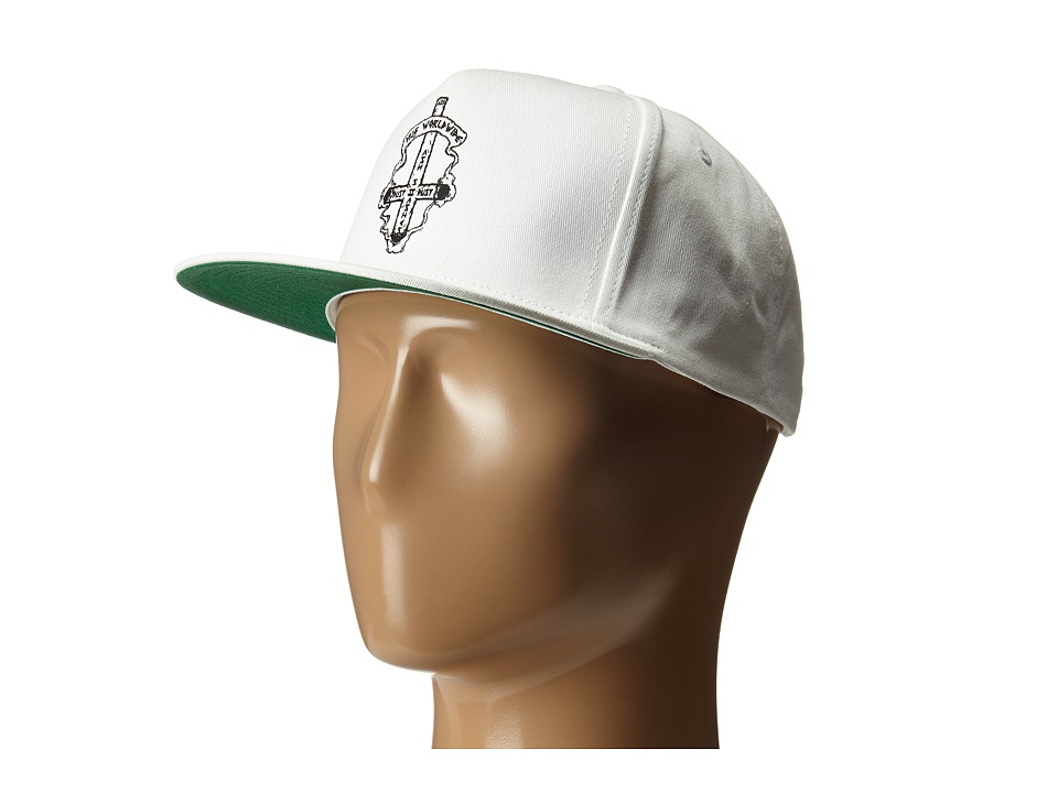 HUF - Ashes To Ashes Snapback (White) Caps