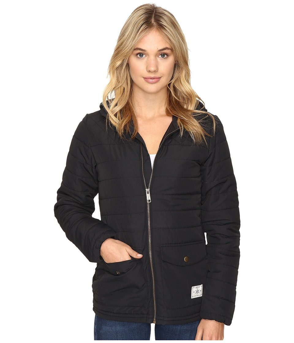 O'Neill - Molten Jacket (Black Out) Women's Coat