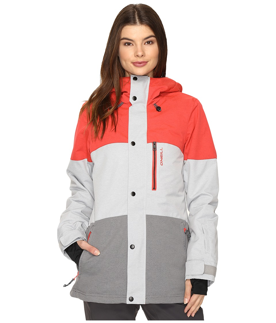 O'Neill - Coral Jacket (Scooter Red) Women's Coat