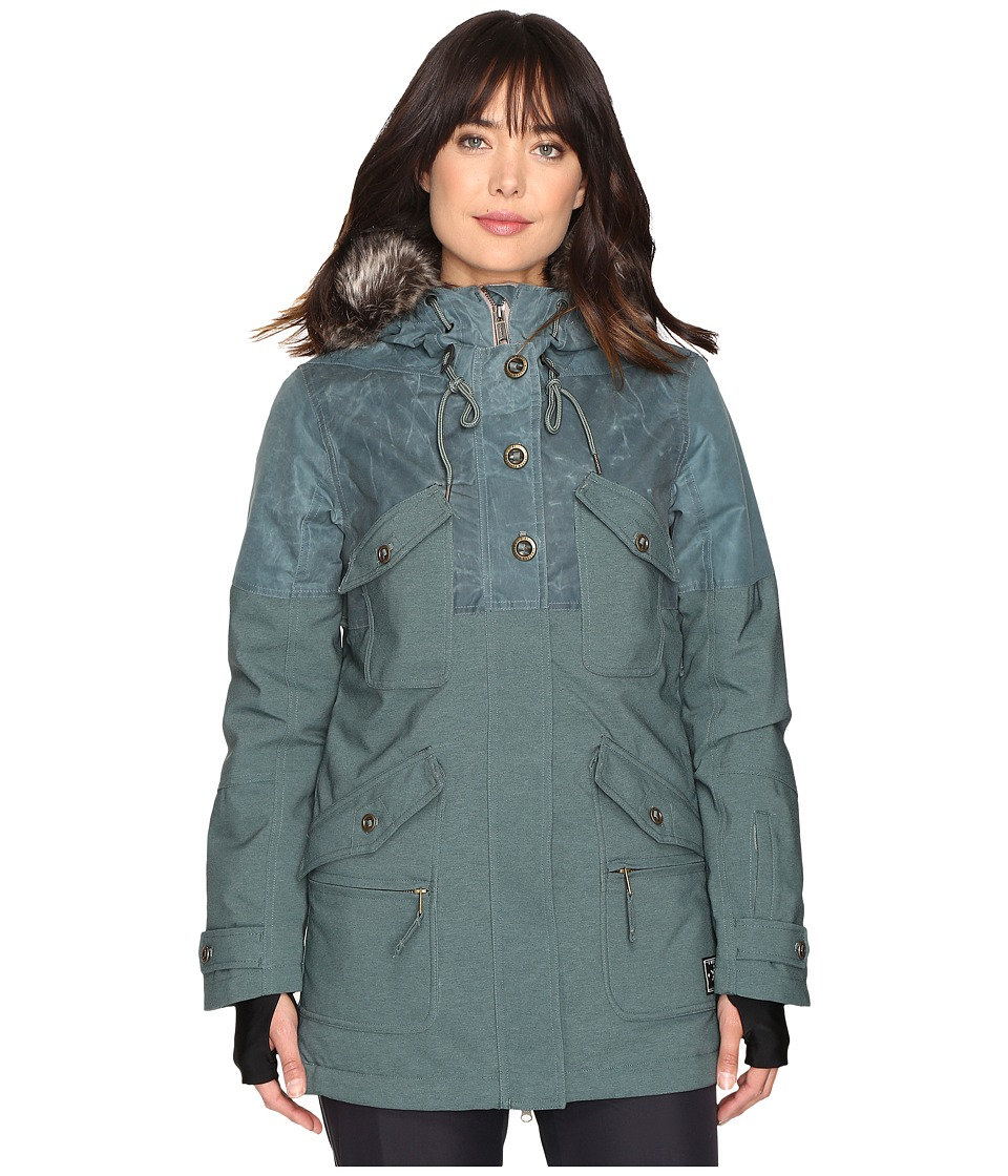 O'Neill - Clip Jacket (Balsam Green) Women's Coat