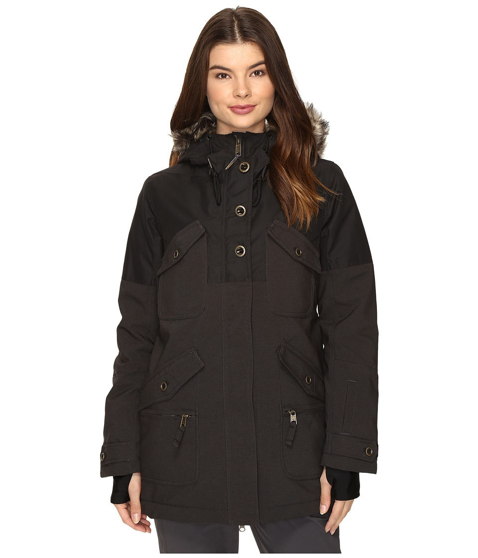 O'Neill - Clip Jacket (Black Out) Women's Coat