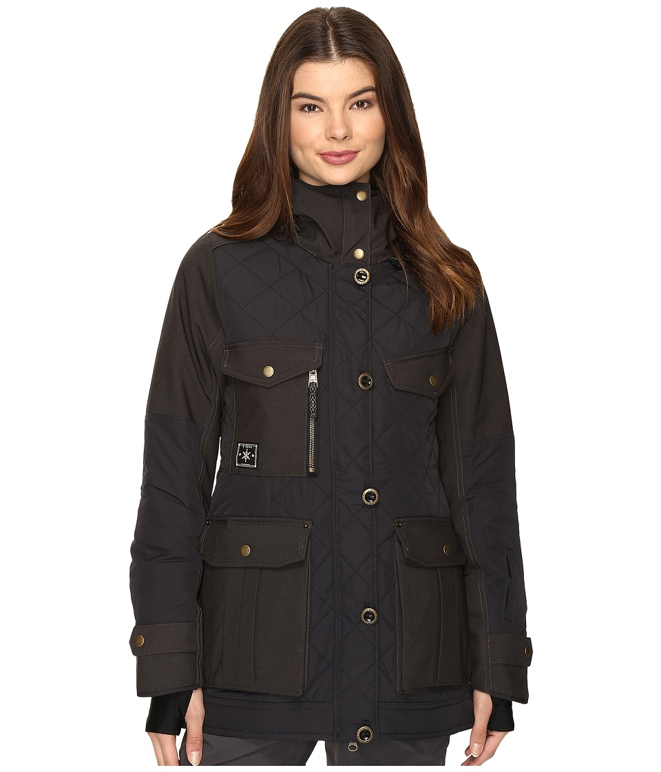 O'Neill - Moto Jacket (Black Out) Women's Coat
