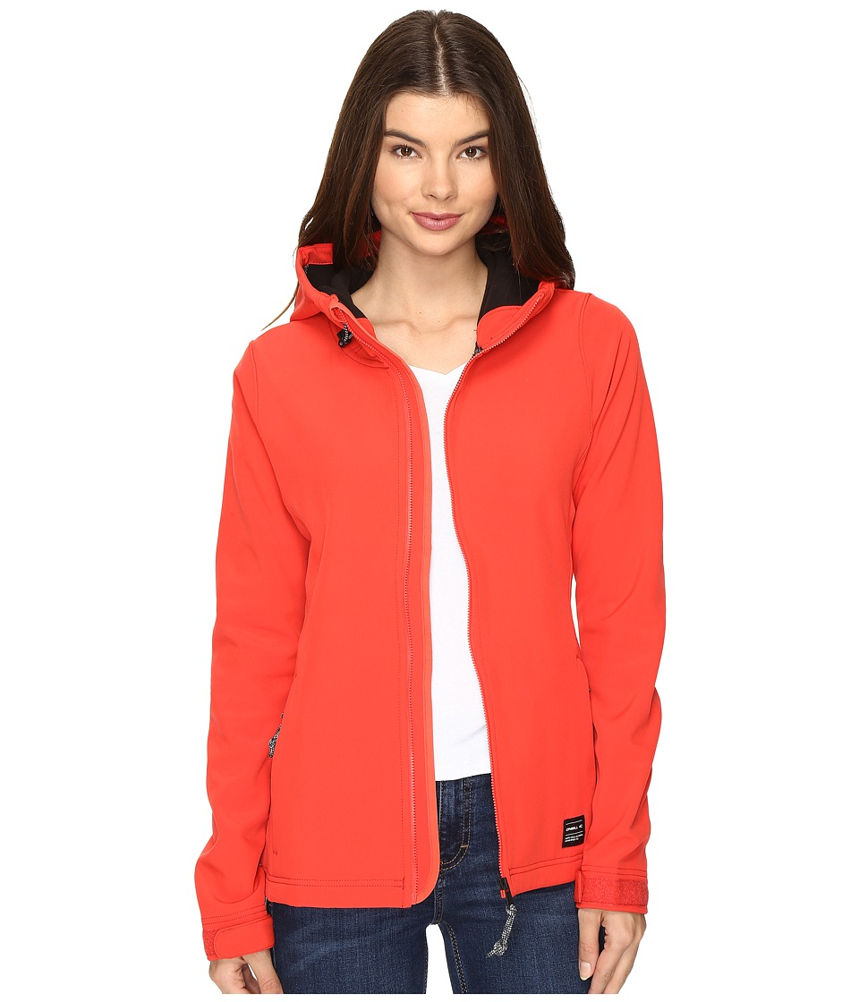 O'Neill - Solo Softshell (Poppy Red) Women's Clothing