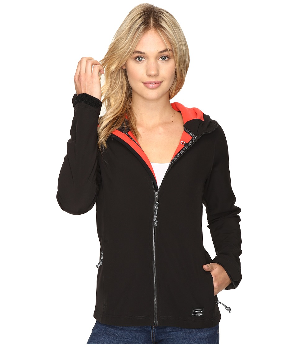 O'Neill - Solo Softshell (Black Out) Women's Clothing