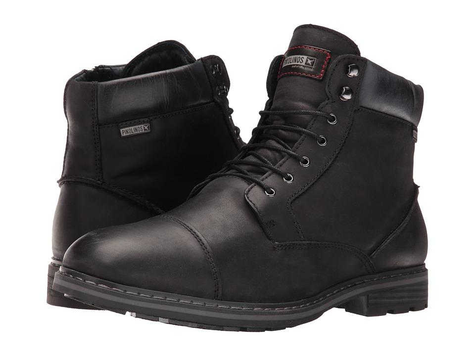 Pikolinos - Caceres M9E-8104SP (Black) Men's Shoes