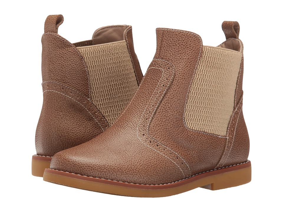Elephantito - Bootie (Toddler/Little Kid/Big Kid) (Camel) Girl's Shoes