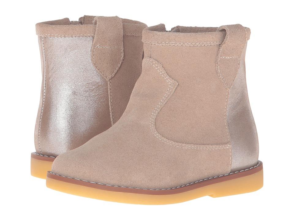 Elephantito Color Block Bootie (Toddler/Little Kid/Big Kid) (Sand) Girls Shoes